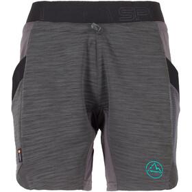 La Sportiva Circuit korte broek Dames grijs/zwart